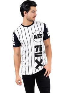 Camiseta Aes 1975 Alongada (Swag) Ll Masculina - Masculino