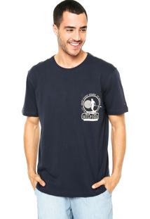 Camiseta Tommy Hilfiger Reta Azul