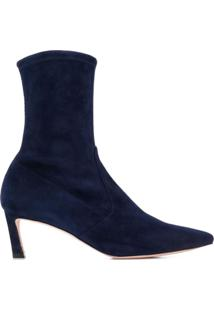 Stuart Weitzman Ankle Boot Rapture - Azul