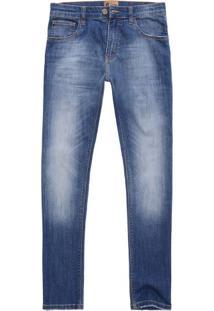 Calça Jeans Tp Fit Dirty Wash Indigo Escuro