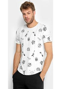 Camiseta Opera Rock Full Print Elementos Masculina - Masculino