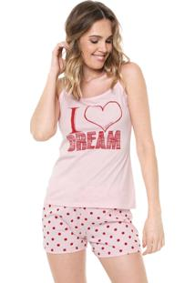Short-Doll Malwee Liberta I Love Dream Rosa