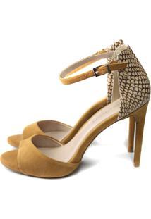 Sandália Cristófoli Eva Camel/ Nude