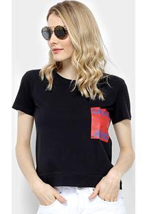 692dd797dbd1f ... Camiseta Calvin Klein Logo Manga Curta Feminina - Feminino
