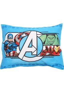 Fronha Avulsa Lepper Dupla-Face Avengers 50 Cm X 70 Cm