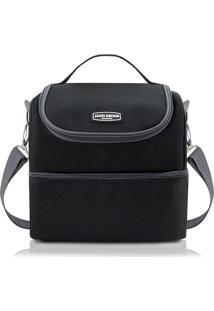 Bolsa Térmica Com 2 Compartimentos Jacki Design Ahl16021 Preta