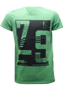 Camiseta Mormaii Bulb Comb - Masculino-Verde