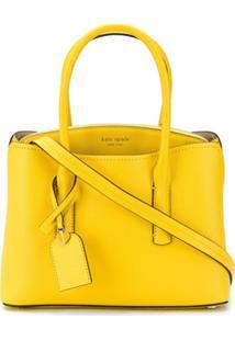 Kate Spade Bolsa Transversal Margaux Média - Amarelo