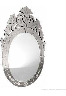 Espelho Decorativo Anel Prata - Antonio E Filhos