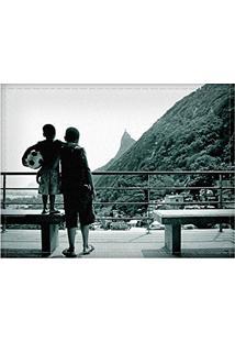 Jogo Americano Decorativo, Criativo E Descolado | Meninos No Morro Dona Marta No Rio De Janeiro - Tamanho 30 X 40 Cm