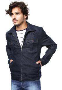 Jaqueta Jeans Forum Azul