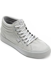 Tênis Dc Shoes Evan Hi Tx Imp Feminino - Feminino-Cinza
