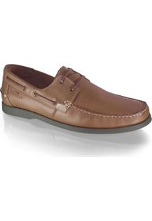 Dockside Samello Smooth - Masculino-Marrom