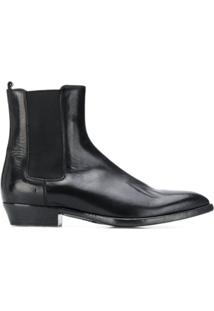 Buttero Ankle Boot Slip-On - Preto