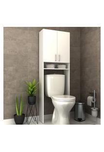 Armário Para Banheiro Smart Bosi 2 Portas Branco