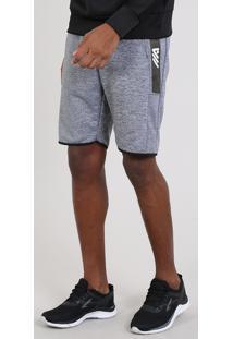 Bermuda Masculina Esportiva Ace Com Elástico Preto