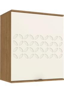 Aereo De 600Mm C/ 1 Porta Freijo/Off White De Madeira Kappesberg - Tricae