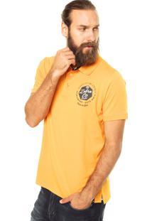 Camisa Polo Zebra Company Laranja