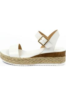 Sandália Plataforma Equipage (981941) Branco