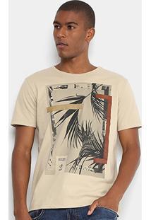 Camiseta Forum Folha Quadro Masculina - Masculino