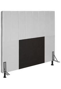 Cabeceira Cama Box Casal Queen 160Cm D10 Jade Corano Branco - Mpozenat