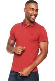 Camisa Polo Sommer Jw Vermelha