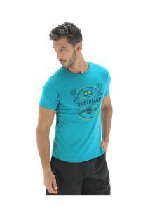 Camiseta Timberland Tbl Brewers - Masculina - Azul