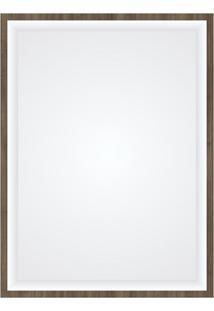 Espelheira Em Mdf Quarsar 60X80Cm Ameixa Negra
