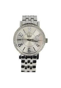 Relógio Feminino Analógico Prata Dumont - Ss-25022S. Prata