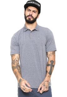 Camisa Polo Quiksilver Comfort Cinza
