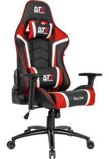Cadeira Gamer Dt3Sports 10504-0 Módena Reclinável Preta E Vermelha