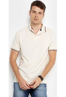 Camisa Polo Forum Piquet Elastano Masculina - Masculino
