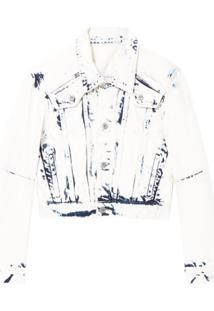 Proenza Schouler White Label Jaqueta Cropped - Azul
