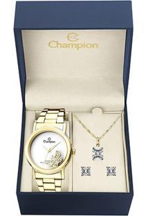 Kit Relógio Champion Analógico Ch25829E Feminino - Feminino