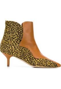 Malone Souliers By Roy Luwolt Ankle Boot 'Jordan' De Couro - Marrom