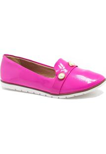 Sapatilha Slipper Zariff Shoes Pedras Rosa