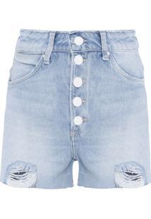 Shorts Feminino Mel - Azul