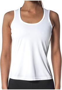 Regata Olympikus Dry Action Essential Feminina - Feminino-Branco