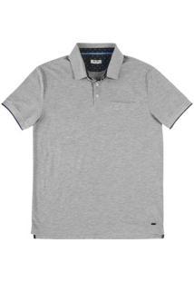 Camisa Polo Masculina Na Modelagem Regular Com Bolso