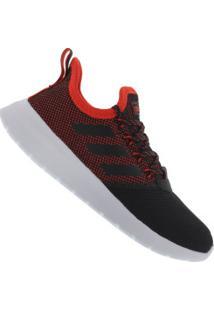 Tênis Adidas Lite Racer Reborn - Masculino - Preto/Vermelho