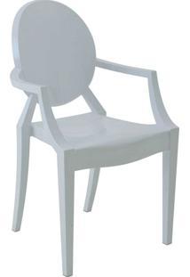 Cadeira Com Braço Pc Sofia -Rivatti - Branco