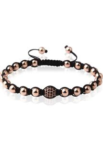 Pulseira Masculina Luxury Rose