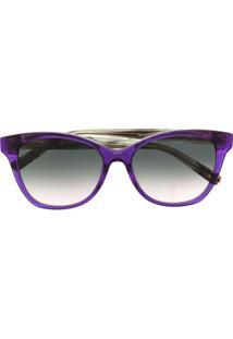 Missoni Eyewear Cat-Eye Sunglasses - Roxo