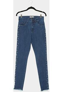 Calça Jeans Enfim Cigarrete Feminina - Feminino