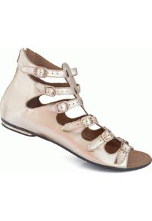 Rasteira Gladiadora Numeração Especial Sapato Show - 2841