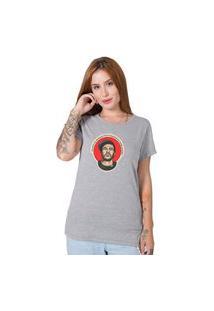Camiseta Chorão Cinza Stoned