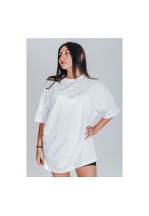 Camiseta Feminina Oversized Boutique Judith Califórnia 1995 Branco