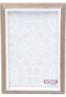 Porta Retrato Fine Touch- Marrom & Branco- Tamanho Durban