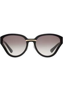 Prada Eyewear Óculos De Sol Prada Maquillage - Preto
