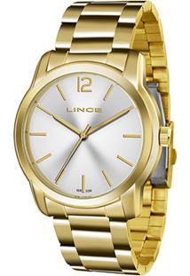 Relógio Lince Analógico Lrg4447Ls2Kx Feminino - Feminino-Dourado